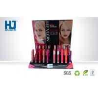 Buy cheap Retail Store PDQ Cardboard Counter Display Boxes With Hole For Lipsticks from wholesalers
