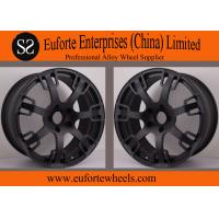 Buy cheap SS wheels - Aftermarket Forged 20 inch Wheels Matte Black Custom Rims for Trucks from wholesalers