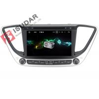 Buy cheap Multi Touch Screen Android Car Navigation System DVD GPS For Hyundai Verna / Solaris 2017 product