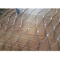 Buy cheap 7X7 Cable Stainless Steel Rope Rhombus Mesh, Flexible Stainless Steel Rope Mesh from wholesalers