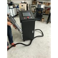 Buy cheap Fiber Laser Metal Cleaning Machine 100W To Remove Metal Rust / Oil Stain from wholesalers