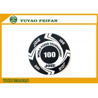 Buy cheap Large Funny Rounders World Tournament Poker Chips With Values 100 from wholesalers