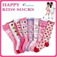 Buy cheap Shiny Stockings Socks Custom Long Patterned Socks For Girl from wholesalers