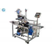 Buy cheap CE Standard Automatic Labeling Machine With Top / Bottom Label Heads from wholesalers