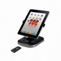 Buy cheap Multi-angle Docking Station with Sound System for iPad, iPad 2G, iPhone, iPod, ≥50dB S/N Ratio from wholesalers