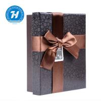 Buy cheap Recyclable Chocolate Paper Box With Bow - Knot Kraft Paper Duplex Board from wholesalers