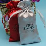 Buy cheap Hotel Soap Small Fabric Drawstring Bags , Ribbon String Satin / Silk Cloth Bag from wholesalers