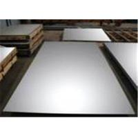 Buy cheap No.1 , No.2 SUS316L Stainless Steel Plate Higher Creep For Ships Building Industry from wholesalers
