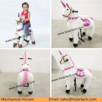 Buy cheap Ride on Horse Toy Walking Pony, the Fantastic Unique Children Gift Ideas for Christmas from wholesalers