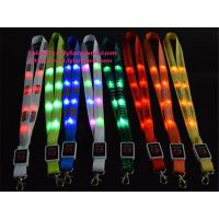 Buy cheap Custom Led Growing Lanyards, Led Flashing Light Up Lanyard, Imprinted Led Lanyards for Party Decoration from wholesalers