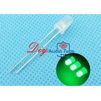 Buy cheap 5MM Diffused DIY LED Diode Green Lighting With 120 Degrees Viewing Angle from wholesalers
