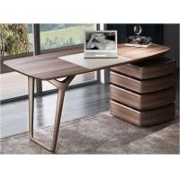 Buy cheap American Dark Walnut Wood Furniture Nordic design of Writing Desk Reading table in Home Study room Office Furniture from wholesalers