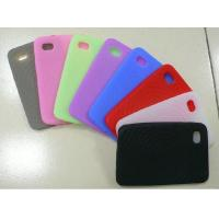Quality Red / Black / White Customized Silicone Cell Phone Cover / Case For Apple iPhone for sale