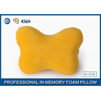 Buy cheap Decorative Bone Shaped Memory Foam Car Travel Pillow For Neck And Head Pain from wholesalers