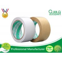 Buy cheap LOGO Print Kraft Paper Tape Masking Use And Kraft Paper Washi Paper Material from wholesalers