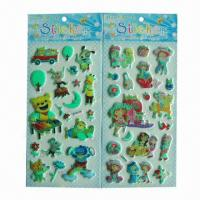 Buy cheap Glow-in-dark luminous stickers, used for promotional gifts, advertisement and premiums, SGS standard product
