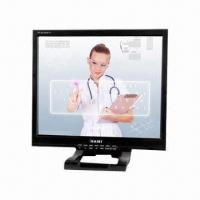 Buy cheap 17 Touch Screen LCD PC Monitor, 1,280 x 1,024P Resolution, VGA/AV/BNC Input Optional, VESA Mount from wholesalers