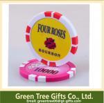 Buy cheap Free artwork design quality guaranteed Custom metal poker chip from wholesalers