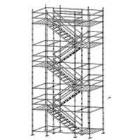 Buy cheap Flexibility Built - In Ladder Kwikstage Scaffolding / Modular System Scaffold With Wedge Fixing from Wholesalers