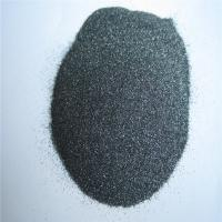 Buy cheap Black silicon carbide SIC sandblasting abrasive from wholesalers