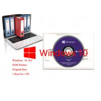Buy cheap Japanese Language Windows 10 Pro OEM Sticker Home Retail Use 64bits Version from wholesalers