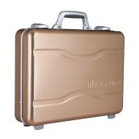 Buy cheap Molded Alloy Aluminum Notebook Carrying Case Golden One Lock For Security from wholesalers