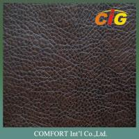 Buy cheap Shrink-Resistant PU Artificial Leather , Imitating genuine leather from wholesalers