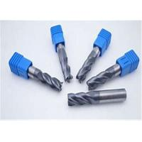 Buy cheap CNC Machines High Speed Carbide Square End Mill Custom Size Iso Certificates from wholesalers