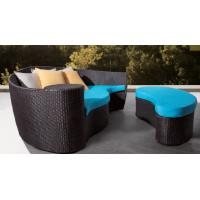 Buy cheap outdoor furniture rattan sun bed /beach lounger-20016 from wholesalers