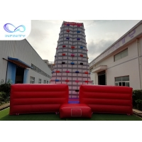 Buy cheap High Giant Rocket Adults Inflatable Rock Climbing Wall For Sale from wholesalers