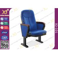 Buy cheap 560mm Center Distance Fabric Cushion Auditorium Chairs Meeting Room from wholesalers