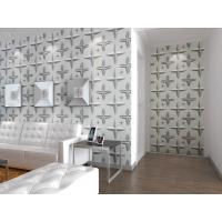 Buy cheap Wall Hanging 3D Living Room  Wallpaper , Fabric Wall 3d Wall Panel Sound-absorbing from wholesalers