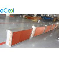 Buy cheap Copper Fin And Tube Heat Exchanger Coil For Air Cooler Evaporator And Refrigeration Unit from wholesalers