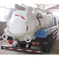 Buy cheap High Pressure Vacuum Pump Sludge Truck For Muddy Water Sanitation Vehicles from wholesalers
