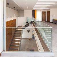 Buy cheap High quality U Channel Glass Railing, Tempered Glass Railing for Stair from wholesalers