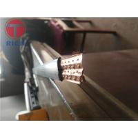 Buy cheap Special Shape Thin Wall Thickness Flat Oval Welding Tube Steel For Cooler from wholesalers