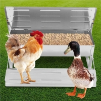 Buy cheap CE Self Opening 8.2L Automatic Timer Chicken Feeder from wholesalers