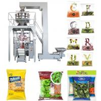 Buy cheap PLC Control Automated Packing Machine / Vertical Form Fill Seal Packaging Machine Speed 5 - 60 Bags / Min from wholesalers