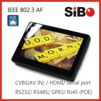 Buy cheap Wall mount Touch Screen Tablet with Indicating LED Bar PoE powered from wholesalers