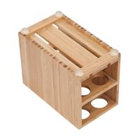 Buy cheap high quality bamboo toothbrush holder using for bathroom with cheap price from wholesalers