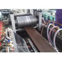 Buy cheap WPC decking extrusion machine/ wood plastic decking profile machine from wholesalers