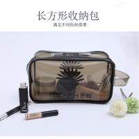 Buy cheap PVC Waterproof Cosmetic Pouch , Environmentally Friendly Makeup Bag Organizer from wholesalers