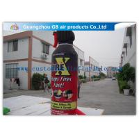 Buy cheap Large Model Bottle Shape Inflatable Fire Extinguisher Water Proof Material from wholesalers