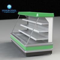 Buy cheap Commercial Upright Display Chiller Microcomputer Temperature Control With Digital Display from wholesalers