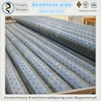Buy cheap 6-5/8STAINLESS PIPE Oil well slotted screen slotted casing pipe slotted liner from wholesalers