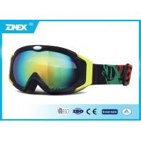 Buy cheap Awesome Blue Green Snow Ski Goggles Photochromic Protective Skiing Eyewear Glasses from wholesalers