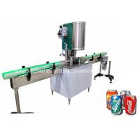 Buy cheap Automatic Alumunim Can Seaming Machine, Tin Can Seamer, PET Can Sealing Equipment from wholesalers