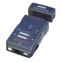 Buy cheap Hardware Networking Tools RJ45 Modular Cable Tester Auto Scan Test Mode from wholesalers