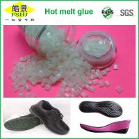 Buy cheap High Adhesive Strength Hot Melt Pellets , High Temperature Shoe Sole Glue from Wholesalers