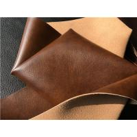 Buy cheap Beige Imitation Upholstery Synthetic Leather Fabric For Furniture from wholesalers